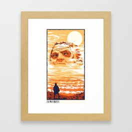 Sun River Framed Art Print