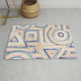 Primary Shapes Rug