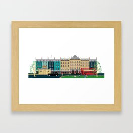 London Clapham Common in Summer Framed Art Print