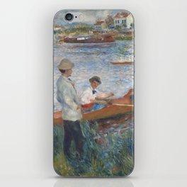 Auguste Renoir Oarsmen at Chatou 1879 Painting iPhone Skin