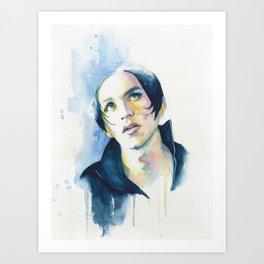 Brian Molko (Nancy boy) Art Print