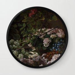 Monet: Spring Flowers - Fine Art Print Wall Clock