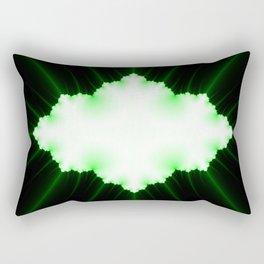 green vission Rectangular Pillow