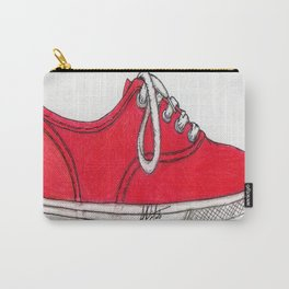 Red Shoe. Carry-All Pouch