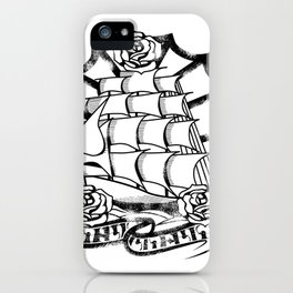 Rough Seas iPhone Case