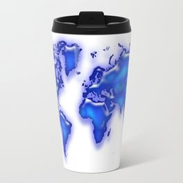 Plastic world map Travel Mug