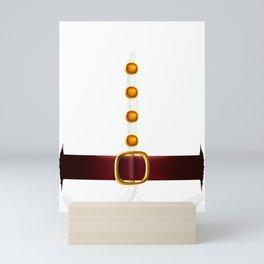 Funny Santa Claus Costume Gift for Xmas Lovers design Mini Art Print
