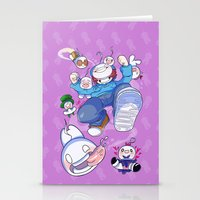 cryaotic Stationery Cards featuring Cryaotic :: JUMP by Thais Magnta Canha
