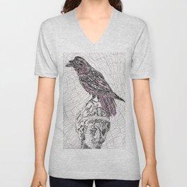 The Raven Unisex V-Neck
