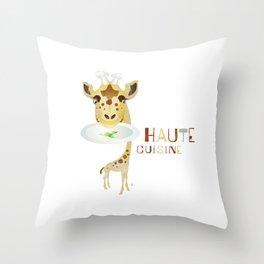 Haute Cuisine Throw Pillow