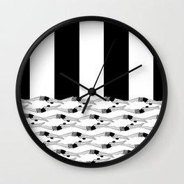Pool Tricks Wall Clock