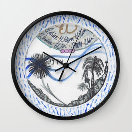 A pilgrimage to Israel Wall Clock