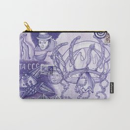 Purple Dream Scape Carry-All Pouch
