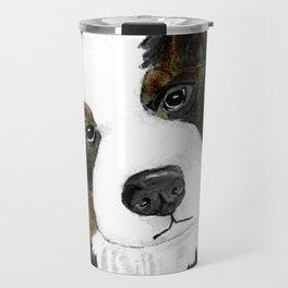 Bernese Mountain Dog Love Travel Mug