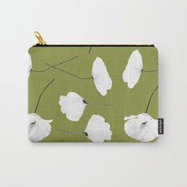 Poppies On Pepper Stem Carry-All Pouch