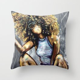 Naturally Nia Throw Pillow