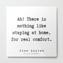 14    | Jane Austen Quotes | 190722 Metal Print