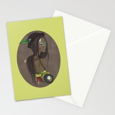Girl with Camera Stationery Cards