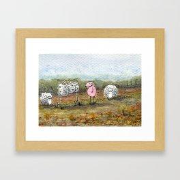 Skippy's Wardrobe Framed Art Print