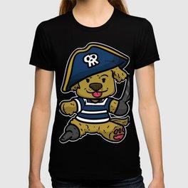 pirate corsar child gift buccaneer idea T-shirt