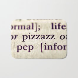 Pizzazz Bath Mat