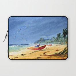 Puerto Rico Beach Laptop Sleeve