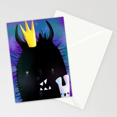Midnight Monsters Stationery Cards