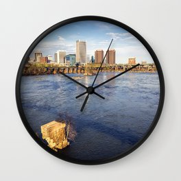 Richmond and the James River Wall Clock