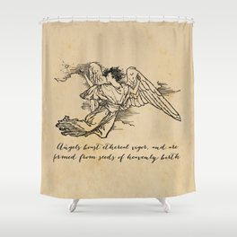 Virgil - Angels Shower Curtain