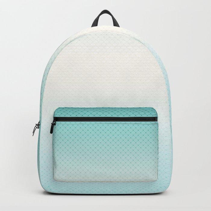 Ombre  light blue Backpack