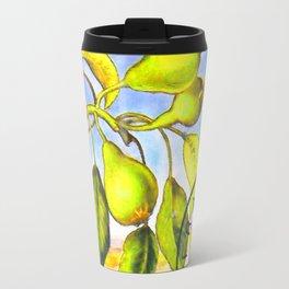 Branch of a Pear tree in Summer Travel Mug