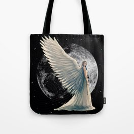 The Moon Angel Tote Bag