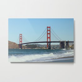 Golden Gate Break Metal Print