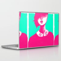 contemporary Laptop & iPad Skins featuring Contemporary Collar by Ben Geiger