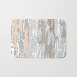 Grey brown Colors Gradient pattern.  light-grey, modern, decor, Society6 Bath Mat