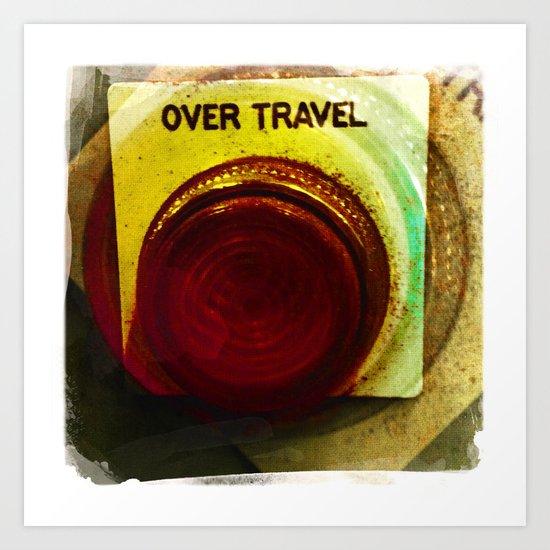 over travel 2 Art Print