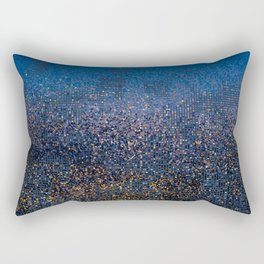 Downtown in Drizzle Rectangular Pillow