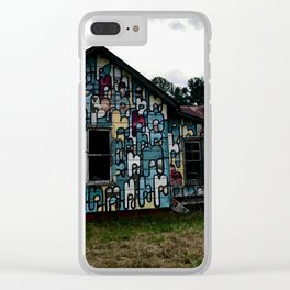 Abandoned house Clear iPhone Case