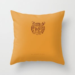 All You Need is 20 Seconds of Insane Courage -We Bought a Zoo Throw Pillow