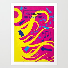 No1046 My Hedwig and the Angry Inch minimal movie poster Art Print