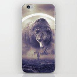 aegis II | bear iPhone Skin