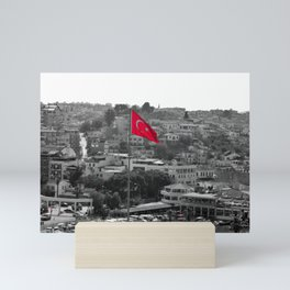 Flag of Turkey POP Mini Art Print