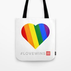#LoveWins Tote Bag