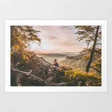Starr Mountain Art Print