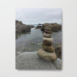 Stacking Stones Metal Print