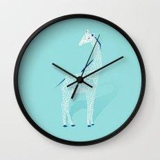 Animal Kingdom: Giraffe II Wall Clock