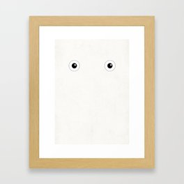 Studio Ghibli - Chibi Totoro (Chuu) Framed Art Print