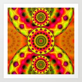 Psychedelic Visions G144 Art Print