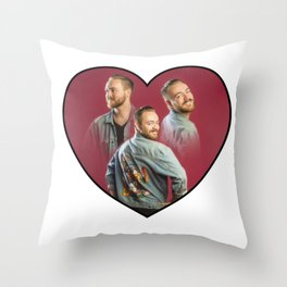 Feeling The Love Throw Pillow