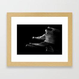 Grace & Ease Framed Art Print